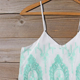 Palm Springs Romper in Mint: Alternate View #2