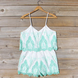 Palm Springs Romper in Mint: Alternate View #4