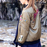 The Patches Bomber Jacket: Alternate View #2