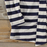 Patches & Stripes Cardigan in Navy: Alternate View #3