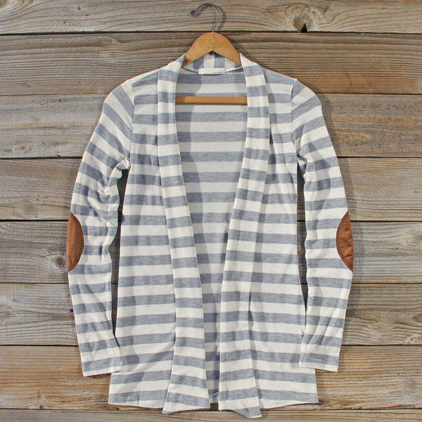 Patches & Stripes Cardigan: Featured Product Image