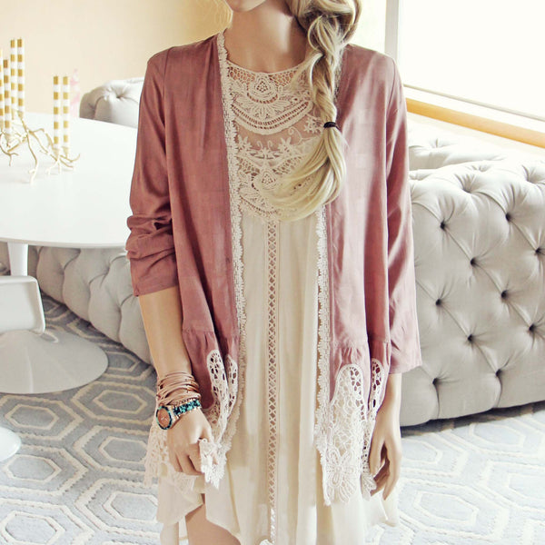 Peacemaker Lace Duster: Featured Product Image