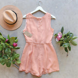 Peach Market Romper: Alternate View #4