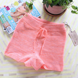 Peachy Knit Lounge Shorts: Alternate View #1