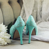 Peony & Mint Heels: Alternate View #3