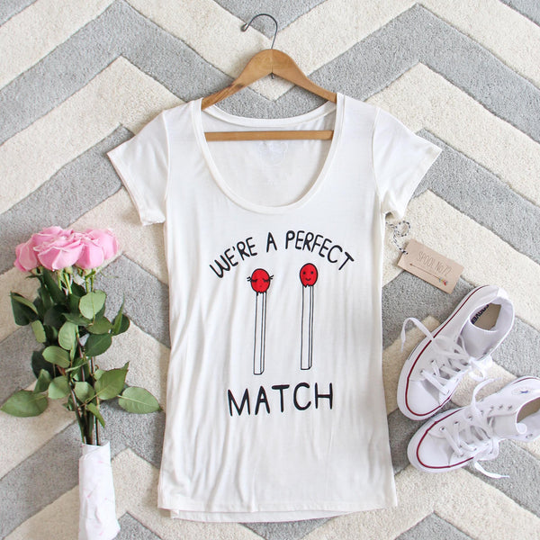Perfect Match Tee: Featured Product Image