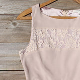 Persian Lace Dress in Sand: Alternate View #2