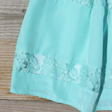 Persian Lace Dress in Turquoise: Alternate View #3