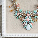 Persian Peach Necklace: Alternate View #2
