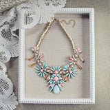 Persian Peach Necklace: Alternate View #1