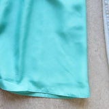 Pin & Hem Dress in Turquoise: Alternate View #3