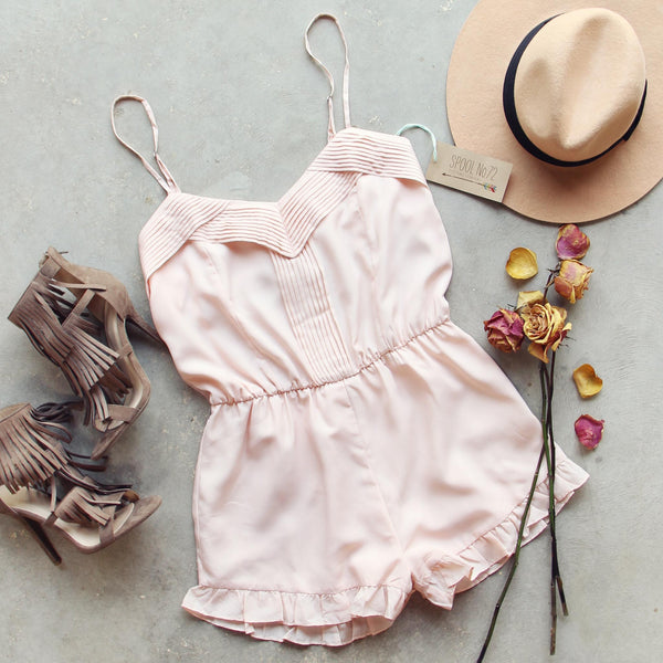 Pin & Hem Romper: Featured Product Image