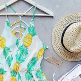 Pina Colada Romper (wholesale): Alternate View #3