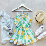 Pina Colada Romper (wholesale): Alternate View #2