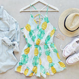 Pina Colada Romper (wholesale): Alternate View #1