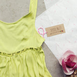 Pineapple Flower Romper: Alternate View #2