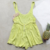 Pineapple Flower Romper: Alternate View #4