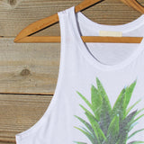 Pineapple Sun Tank: Alternate View #3