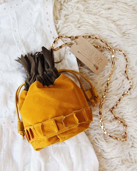 Pineapple Suede Tote: Featured Product Image