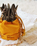Pineapple Suede Tote: Alternate View #3