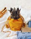 Pineapple Suede Tote: Alternate View #2