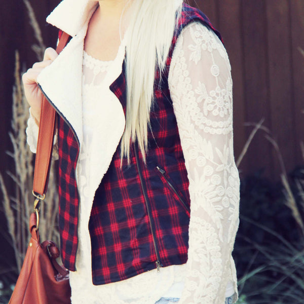 Plaid & Cloth Vest: Featured Product Image