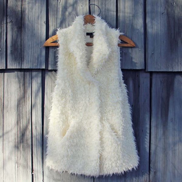Polar Bear Cozy Vest: Featured Product Image