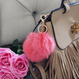 Pom Pom Purse Poof in Pink: Alternate View #2