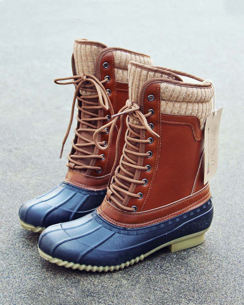 The Portland Duck Boot: Featured Product Image