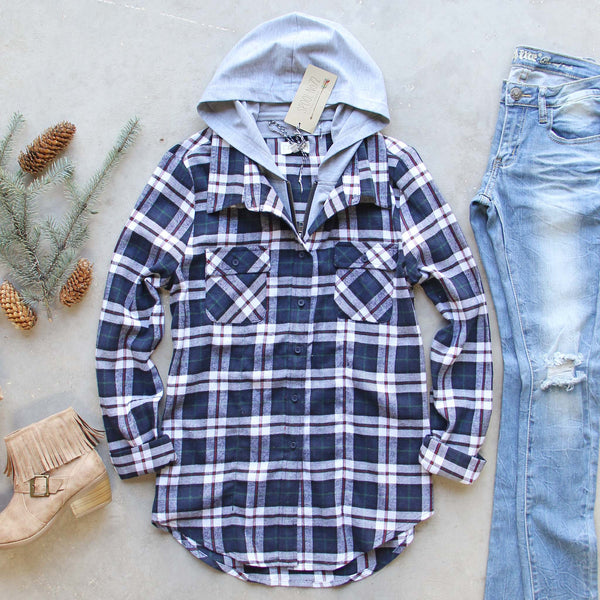 The Portland Plaid Hoodie: Featured Product Image