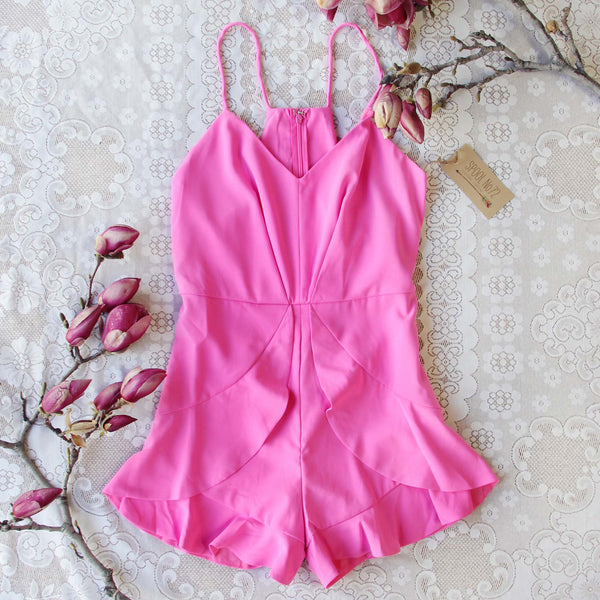 Prettiest Thing Romper: Featured Product Image