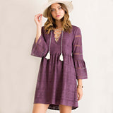 Purple Moon Dress: Alternate View #2