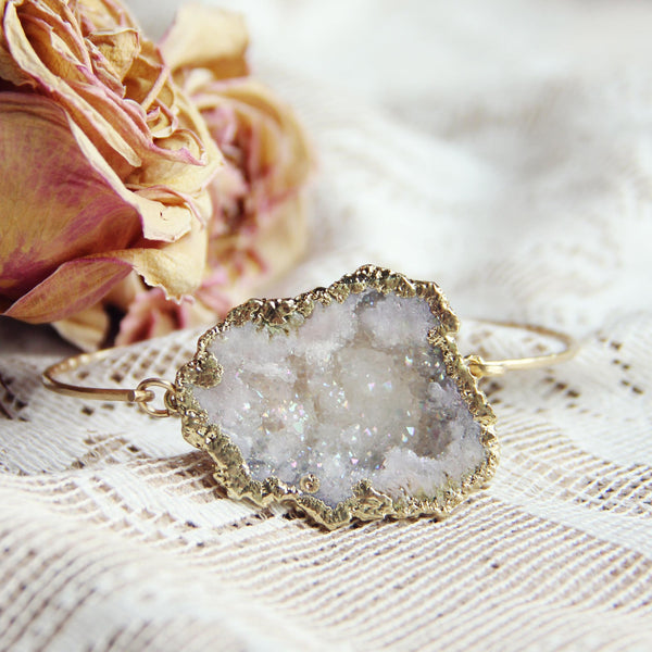 Quartz Bark Bracelet: Featured Product Image