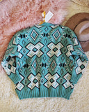Ranch Sweater in Mint: Alternate View #4