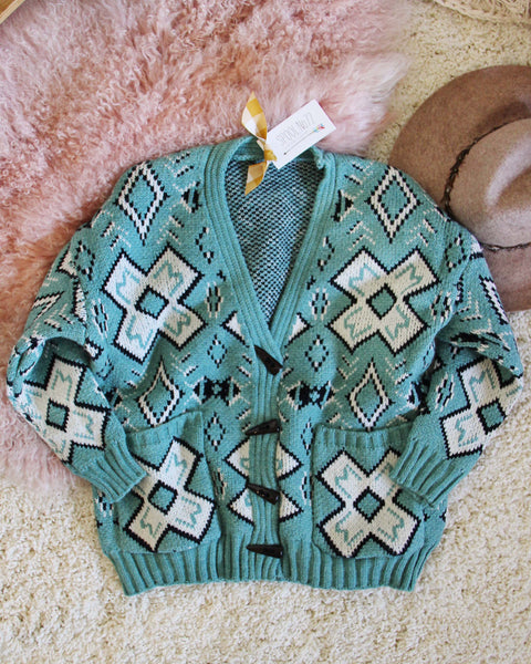Ranch Sweater in Mint: Featured Product Image