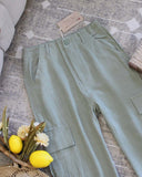 Troop Linen Pants: Alternate View #2