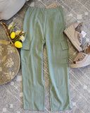 Troop Linen Pants: Alternate View #3