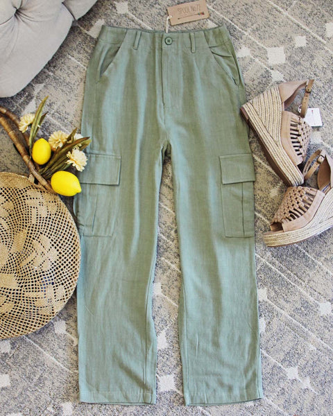 Troop Linen Pants: Featured Product Image