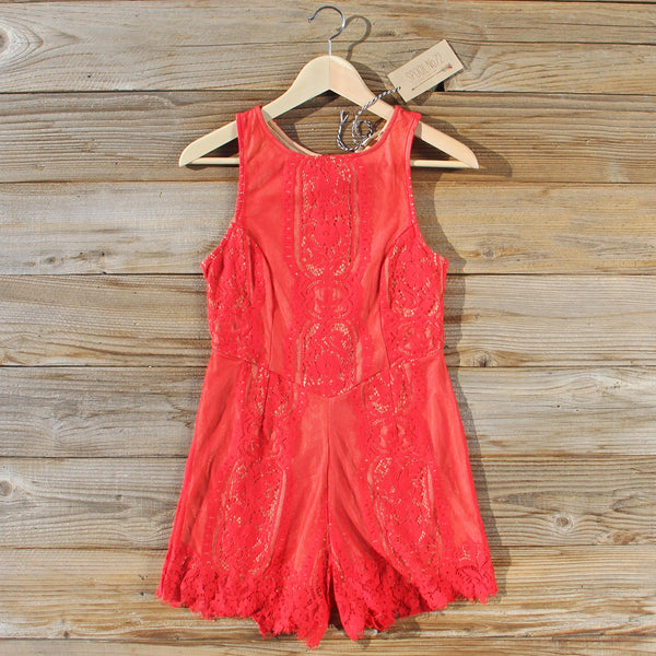 Rare Rose Romper: Featured Product Image