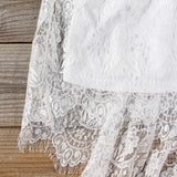 Rhapsody Lace Dress: Alternate View #3