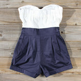 Road Trip Romper in Navy: Alternate View #4