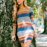 Rocky Stripe Dress: Alternate View #3