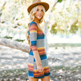 Rocky Stripe Dress: Alternate View #1