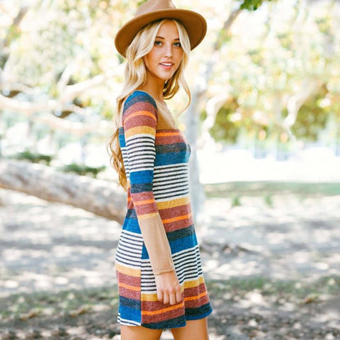 Rocky Stripe Dress
