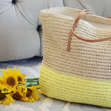 Arizona Dipped Tote in Yellow: Alternate View #2