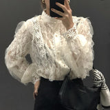 Romantic Lace Blouse: Alternate View #2