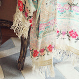 Rose Fringe Duster (wholesale): Alternate View #2