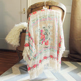 Rose Fringe Duster (wholesale): Alternate View #4