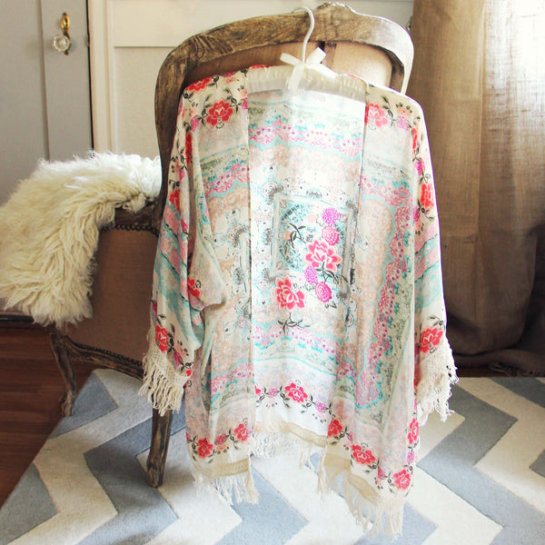 Rose Fringe Duster: Featured Product Image