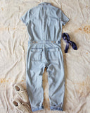 Rosie Coverall Jumpsuit in Denim: Alternate View #4